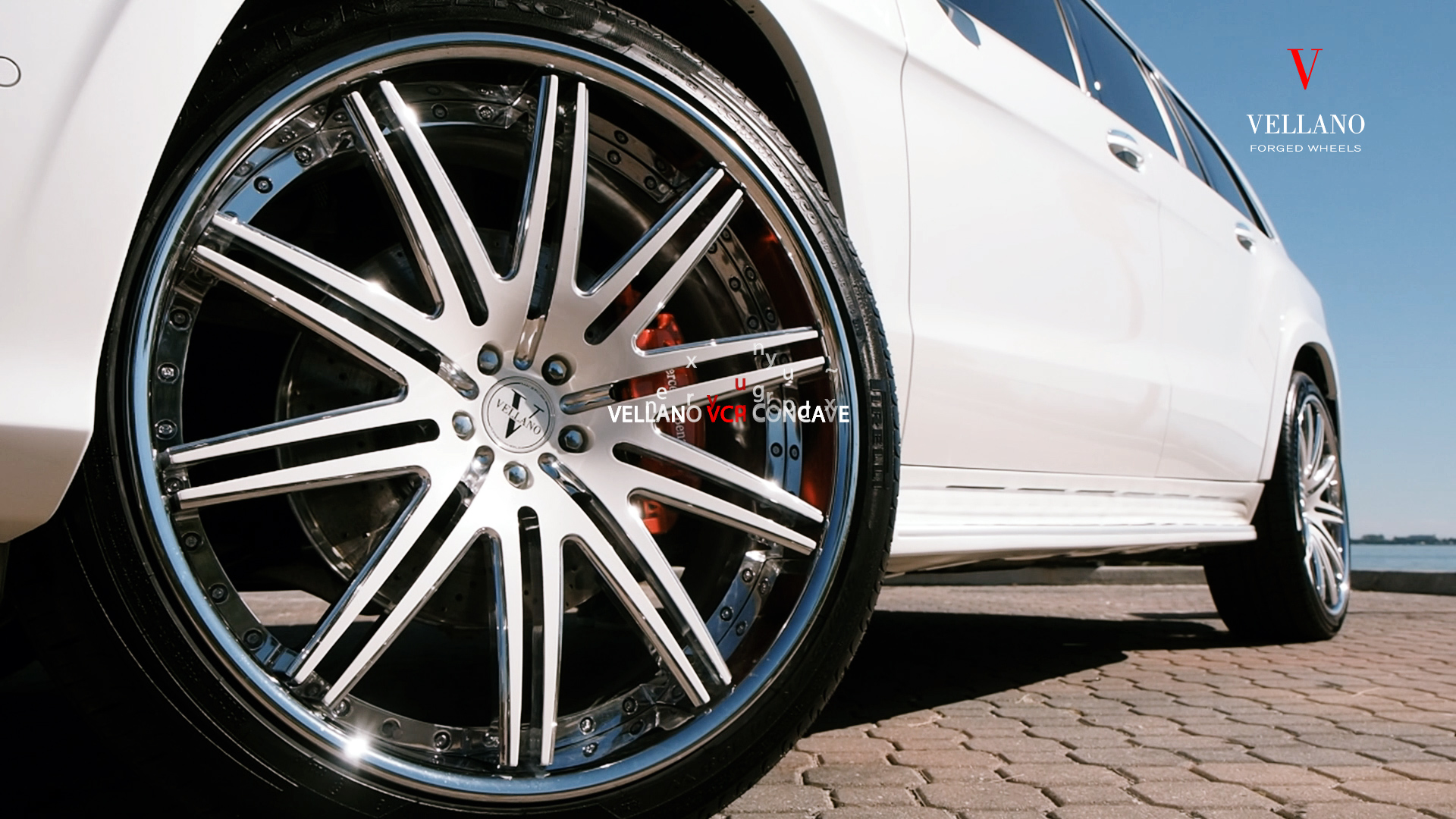 Vellano VCP Concave On Mercedes Benz GL550
