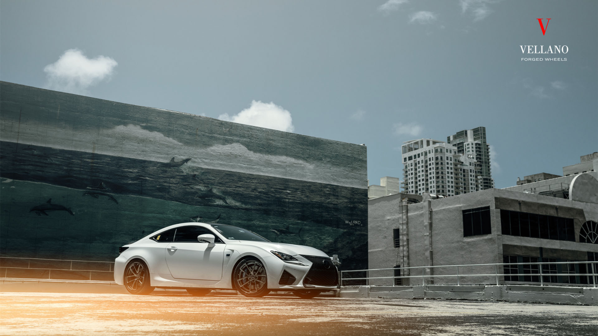 Lexus RC F With Vellano Forged Wheels VCU Concave
