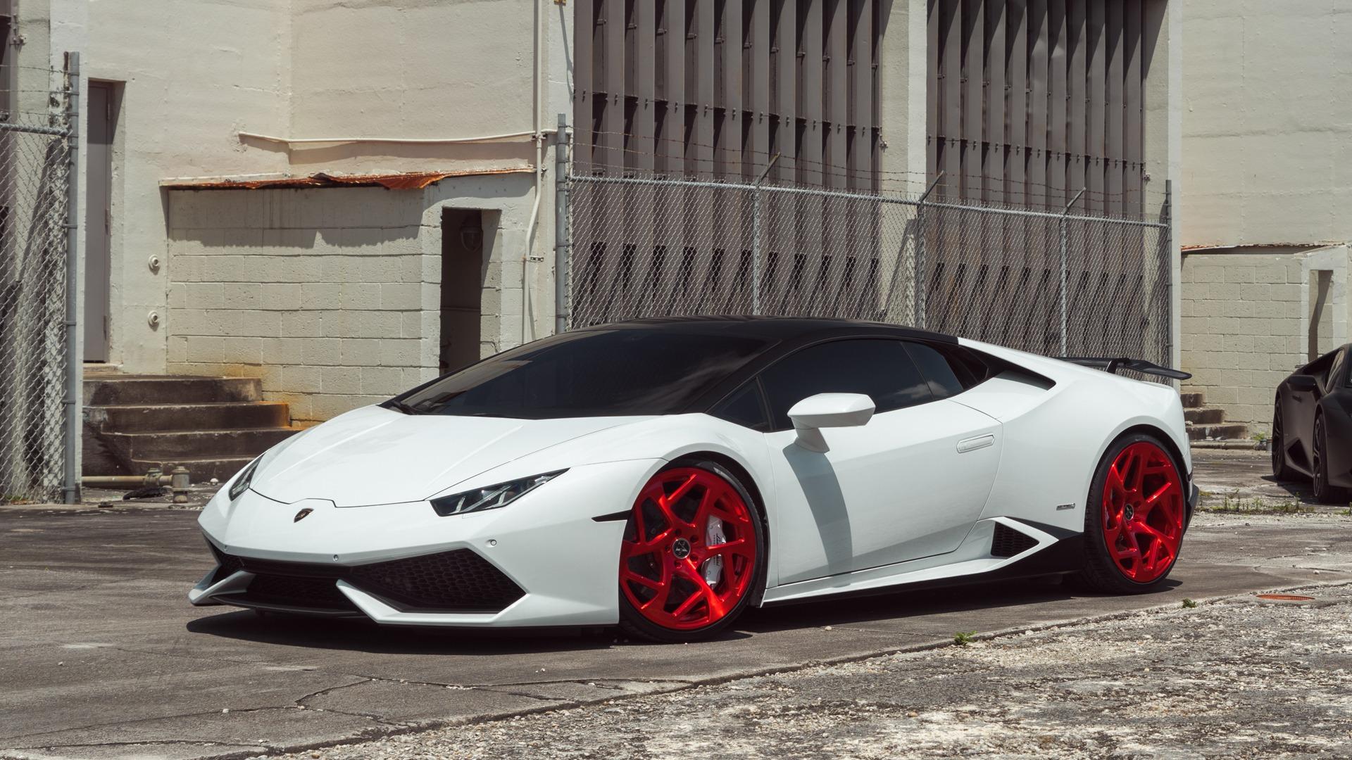 Lamborghini Huracan On VM39 Monoblock