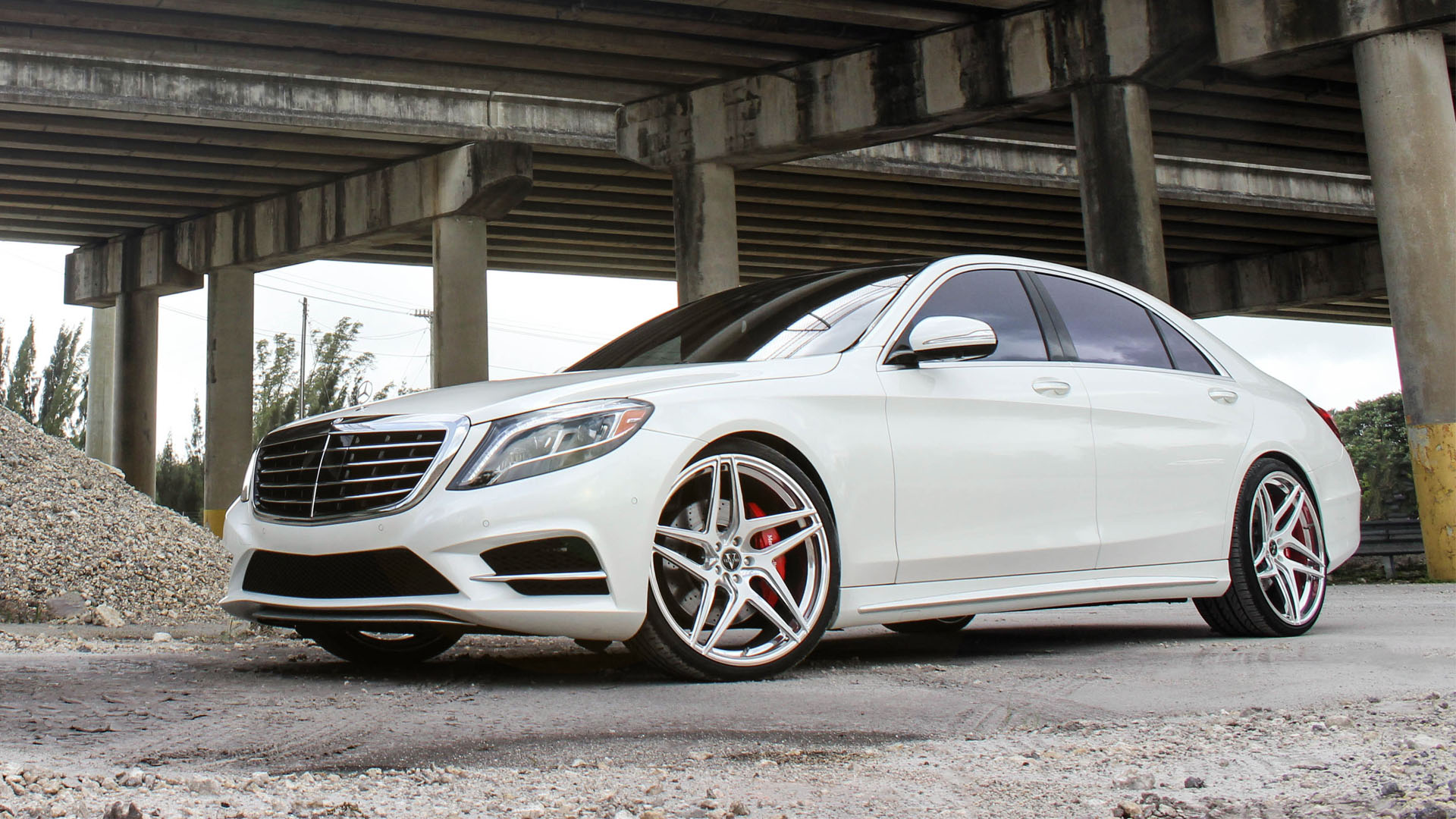 Mercedez Benz S550 With Vellano Forged Wheels VM40
