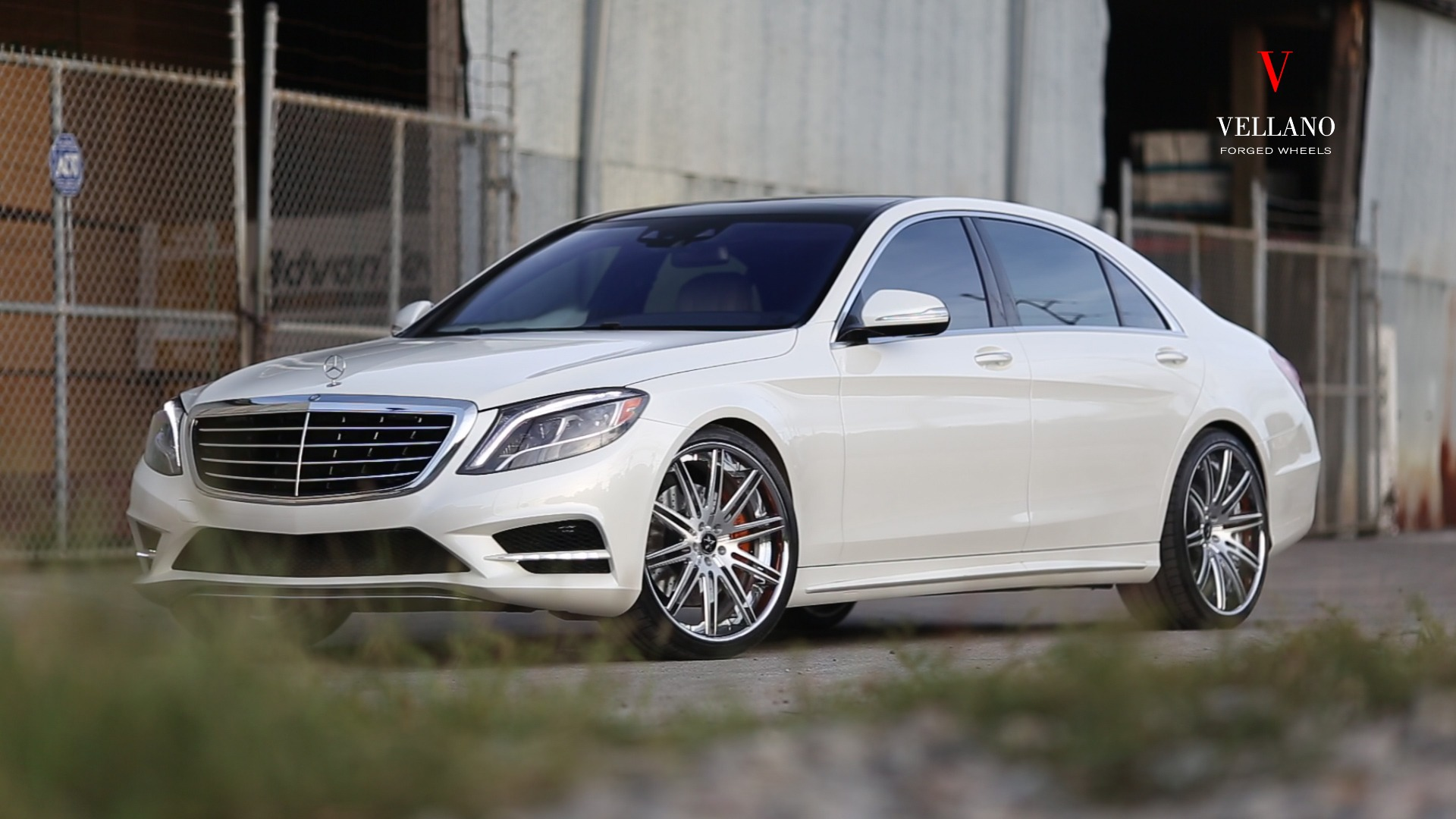 MERCEDES BENZ S550 ON VCP CONCAVE