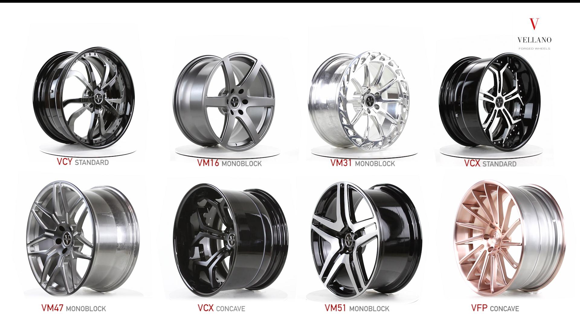 Vellano Forged Wheels