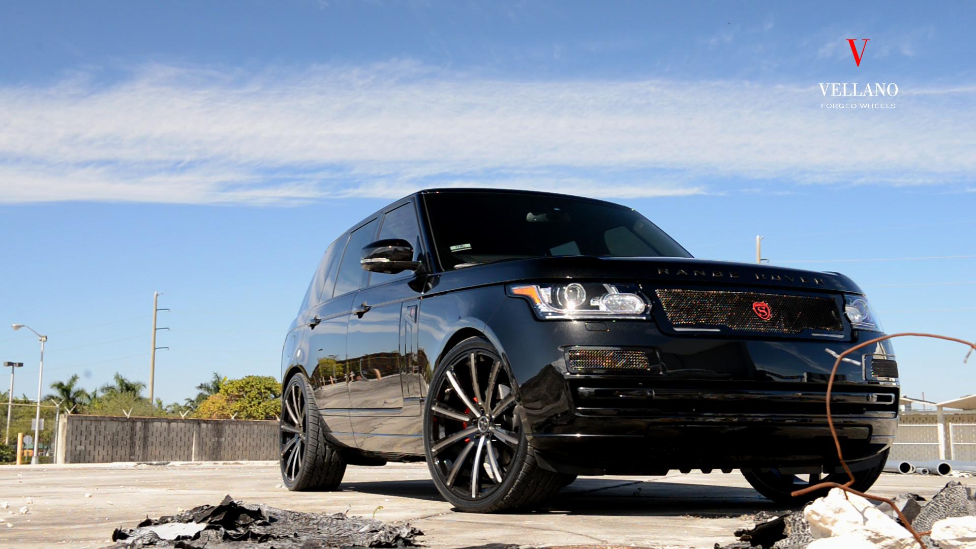 Black Range Rover VM03 24″ Monoblock