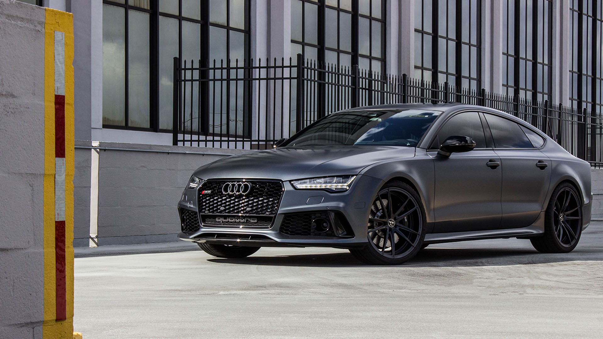 Audi RS7 With Vellano Forged Wheels VM35 Duoblock